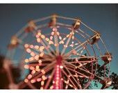 Summer - Photography - Ferris Wheel Photograph - Carnival - Fair - Photograph - There is a Light That Never Goes Out - Fine Art Photograph
