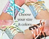 Custom Laced Cuff - Choose your colors and size