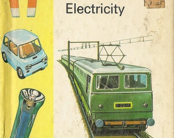 MacDonald First Library Electricity - 1975 - Vintage Book
