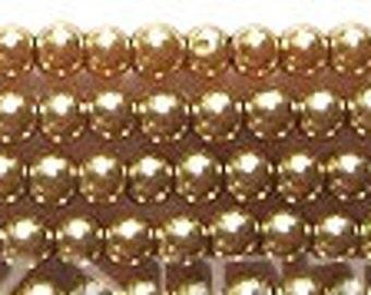 3mm Elegant Khaki Glass Pearls 140 pcs