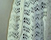 Crocheted Cape wth Fringe