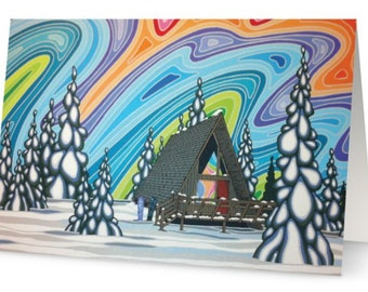 Our Hidden Place Art Greeting Card