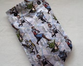 Star Wars Characters Flannel Hot Water Bottle Cover