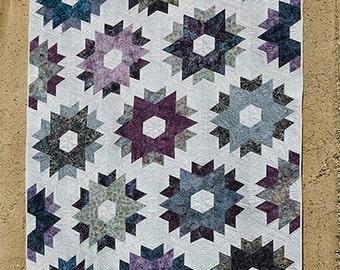 SALE - Day Break quilt pattern from Jaybird Quilts - baby, lap, full, king - fat quarter friendly