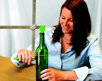 BE GREEN - Recycle Using this Generation Green (g2) Bottle Jar Cutter.  VIDEOS to watch and see.