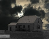 Old house, storm, dark, goth look, digital download, limited commercial, personal use