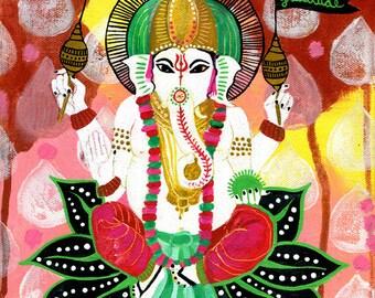 Ganesh of Gratitude PRINT