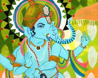 Ganesh of Bravery PRINT