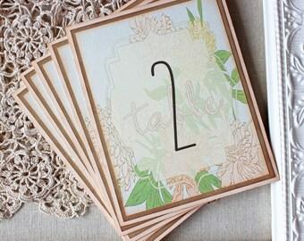 Chrysanthemum Table Numbers