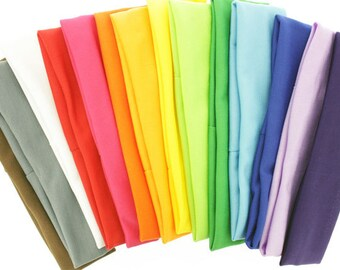 CLEARANCE Sale - Wholesale Lot - 30 Large Nylon Headbands VARIETY Pack - DIY Hair Bows