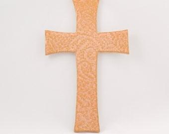 Orange Hanging Cross, 50% Off