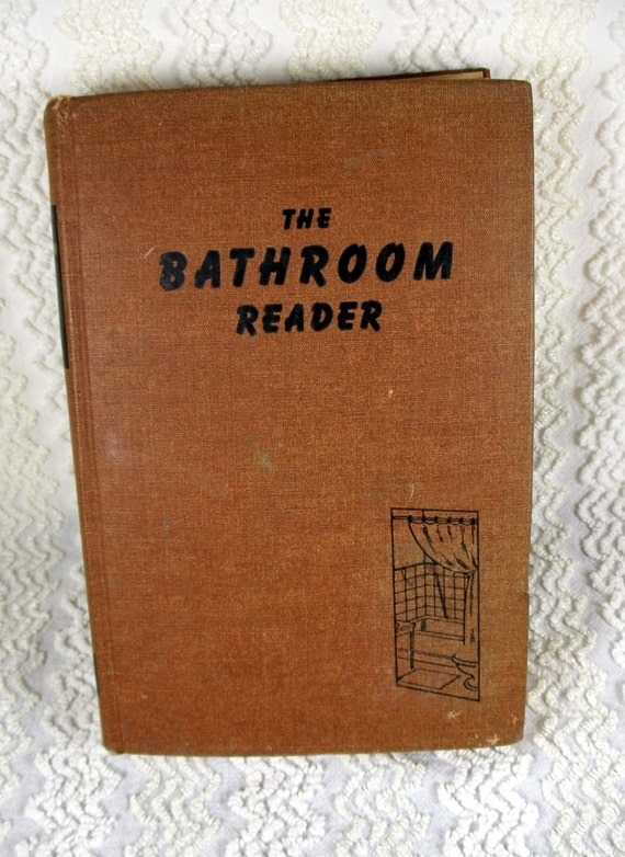 Vintage The Bathroom Reader Book 1946 By Earl By TimelessTotes