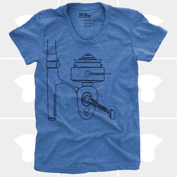 Fishing shirt women women 39 s fishing reel tshirt by for Fishing shirts for women