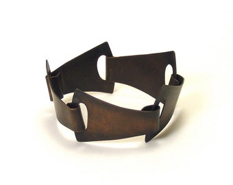 Oxidized Copper Organic Link Armwear - Consensus
