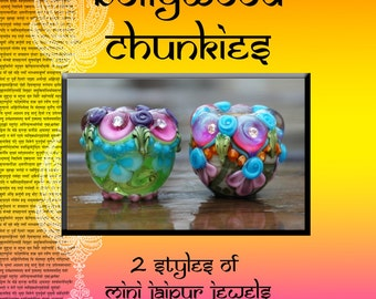 Bollywood Chunkies Mini Jaipur Jewels Bead Tutorial Instant Download
