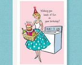 BIRTHDAY CARD - Wishing you loads of fun on your birthday!