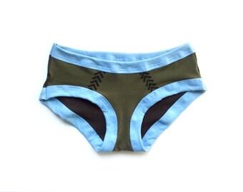 Black Lagoon Undies - Handmade Underwear