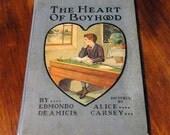 Photo Album or Scrapbook from vintage book HEART OF BOYHOOD