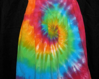 Over the Rainbow Tye Dye Fun in the Sundress Size 8