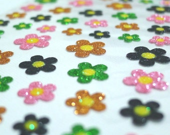 Pretty Magical Star Dust Glitter Stickers - Little Flowers (1271) by Mind Wave Inc.