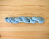 Indigo dyed Sashiko thread  Extra Pale Blue color 100 meters (110yards) skein
