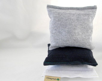 Natural Dryer Sheet Sachet Pillows Recycled Material Organic Lavender SET of THREE