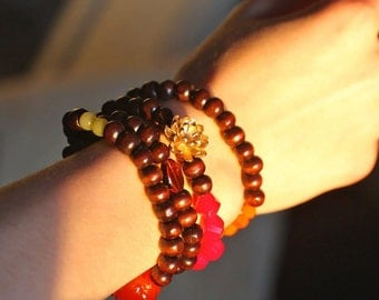 SALE - Custom Handmade Mala - Prayer Beads
