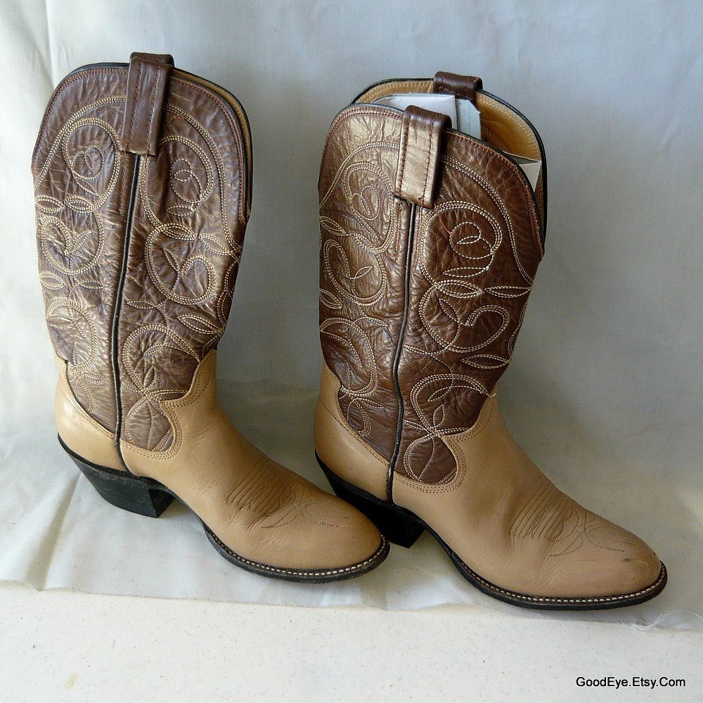 size 6 western ankle boots leather sanders eu 37 by