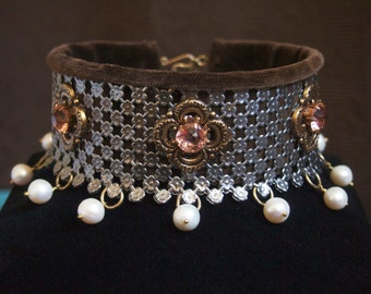 The Cranach Inspired Steel Choker OR The Concept Collar