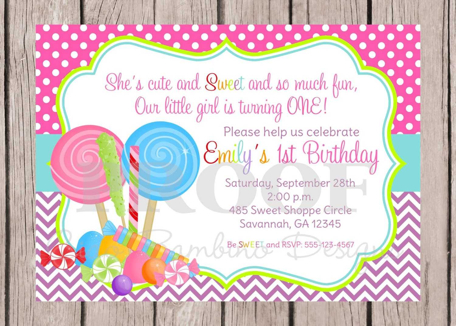 Invitation Creator Free Printable with adorable invitation design
