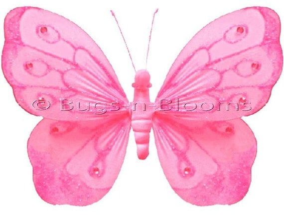 One Dollar Nylon Butterfly Decorations 118
