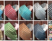 Custom Reversible Baby Sling  Chevron Print   Ships Fast    Lots of Color Choices