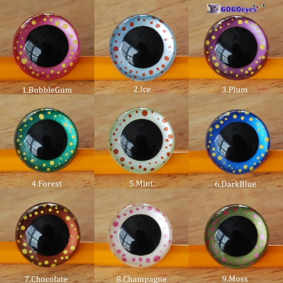 Magic in your eyes hand painted eyes 21mm safety eyes