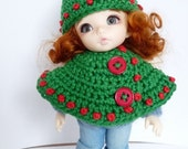 SALE Lati Yellow/PukiFee Hat and Cape Holly