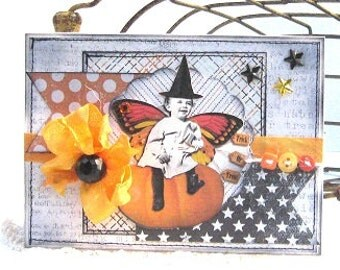 Trick or Treat - Card and Envelope
