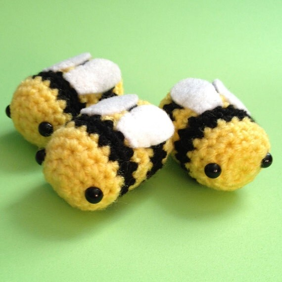 Amigurumi Kawaii Bumblebee Collectable