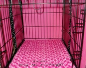 """Dog Crate Pad  - Dog Bed - 3""""  Memory Foam  -  Dogs - Pets - Includes Embroidered Personalization"""
