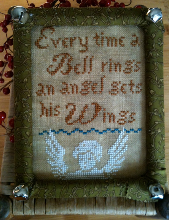 Every time a bell rings epattern by thesamplergirl on etsy