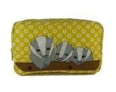 Badgers Cosmetic Bag
