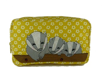 Badgers Cosmetic Bag