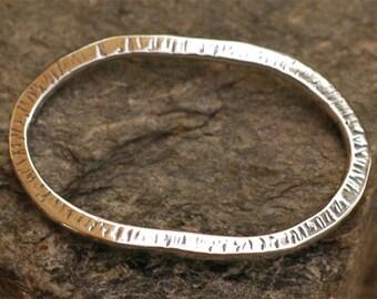 Big Oval Bracelet Link in Sterling Silver - 402