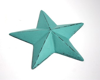 Shabby Cottage Chic Cast Iron Star