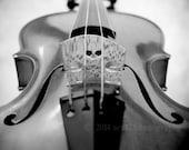 40% OFF SALE  Violin Photography, Still Life Photo, Black and White, Monochrome Art, Musical Wall Art, Fine Art Photography Print