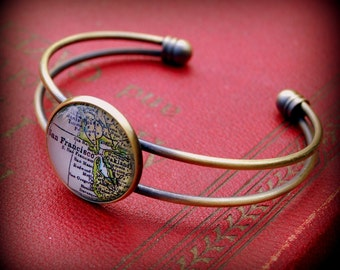 San Francisco Map Bracelet