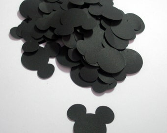 Mickey Mouse Confetti, Die Cut Embellishment for Party,Cards and more ideas