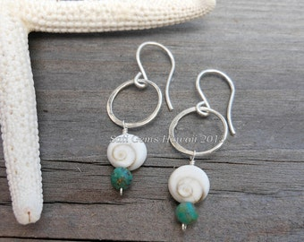 Full Moon 925 Silver Earrings