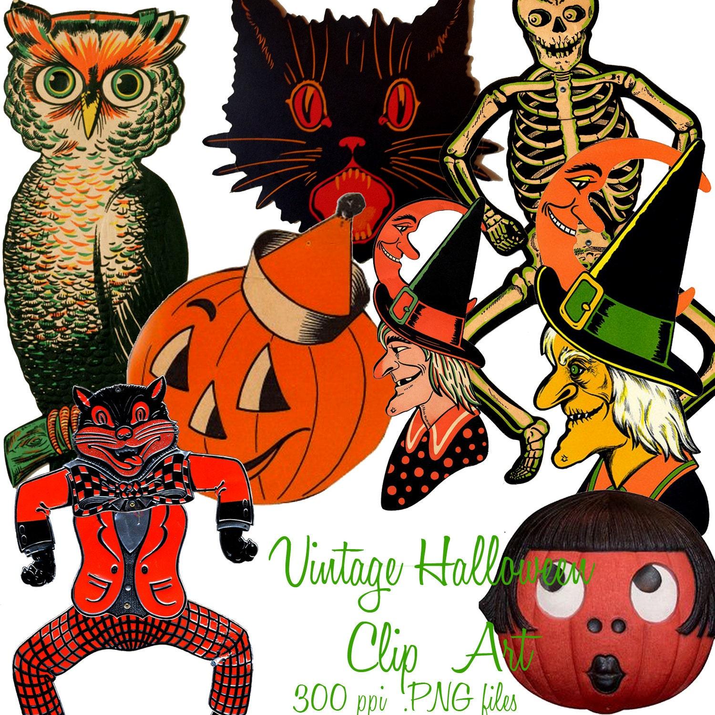 halloween clip art free vintage - photo #46