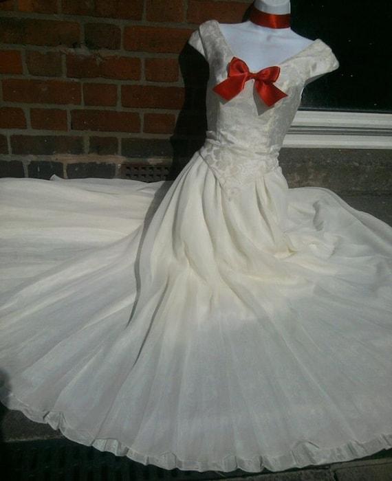 Zombie Wedding Dress For  : Dress costume blood splattered off white full wedding us