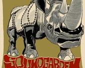 Soundgarden Screen printed gig poster Helsinki Finland 2013