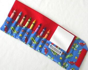 Crayon Wallet - Planes, Trains and Automobiles